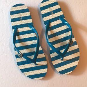 Michael Kors Flip Flops Blue